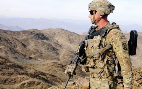 在阿富汗的ISAF士兵