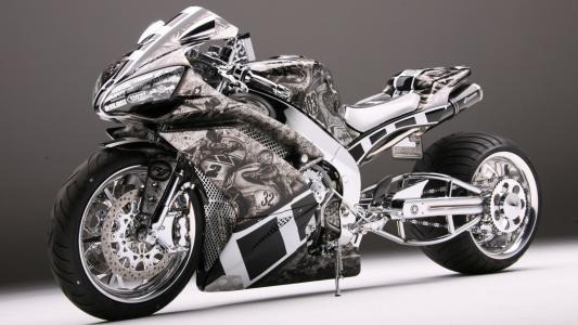 运动摩托车雅马哈R1