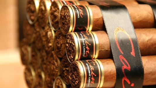 昂贵的古巴雪茄