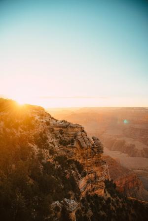 唯美日出风景微信背景