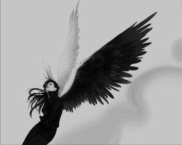 带翅膀的女孩