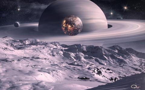 与环的星球
