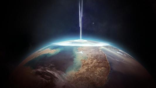 行星,爆炸