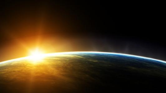 地球上的日出