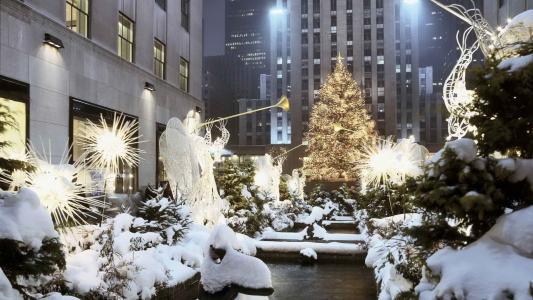 洛克菲勒中心在纽约