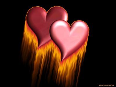 两颗火热的心