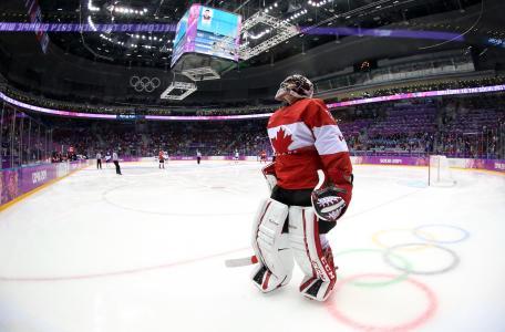 索契2014年加拿大曲棍球金牌队