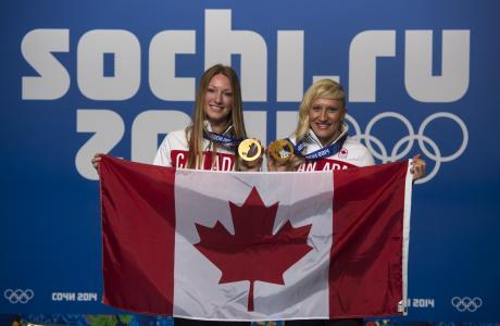凯奇·亨弗里斯加拿大雪橇金牌得主索契