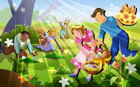 复活节习俗
