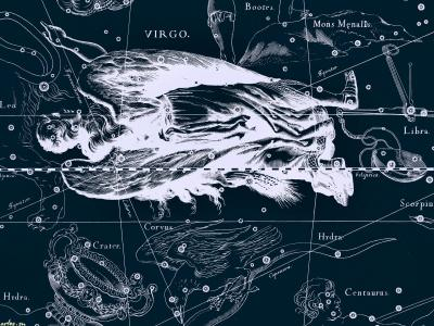 星空的地图,处女