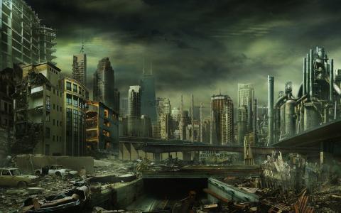 破碎的城市