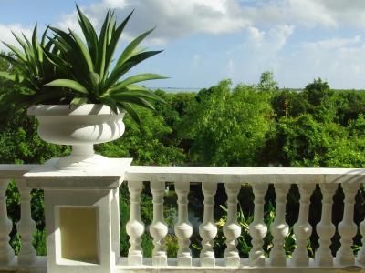 古巴Cayo Ensenacios度假村的露台