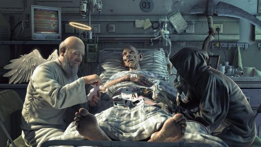 死亡和天使打牌
