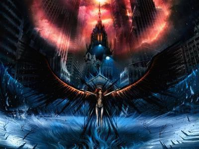 天使与黑色的翅膀