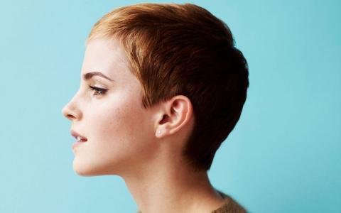 艾玛·沃森,短发型