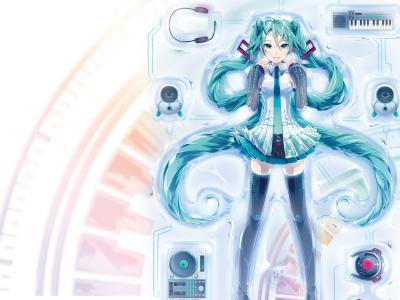 Vocaloid初音女孩