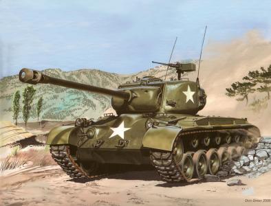 美国中型坦克M-26