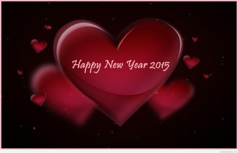 随着新年的爱情