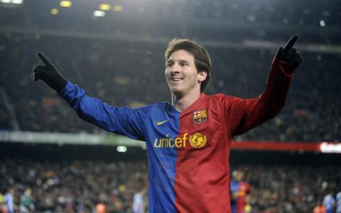 梅西是巴塞罗那的球员