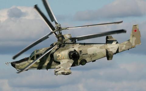 直升机КА-50,黑鲨