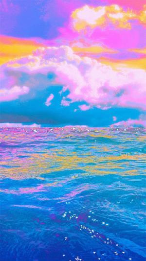 创意摄影海边风景
