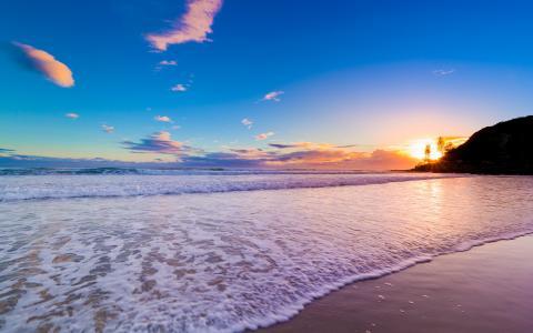 美丽的黎明在澳大利亚