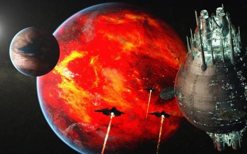 死星袭击行星系统