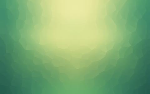 黄绿色的辉光,渐变