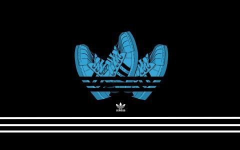 阿迪达斯鞋 - 阿迪达斯标志