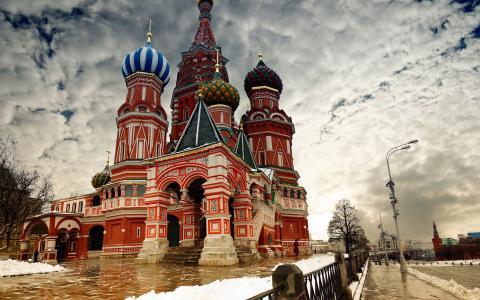 圣巴西尔大教堂,莫斯科