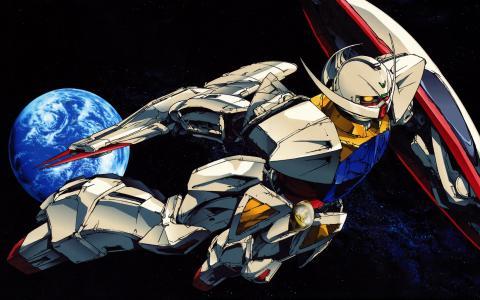 机器人在太空中