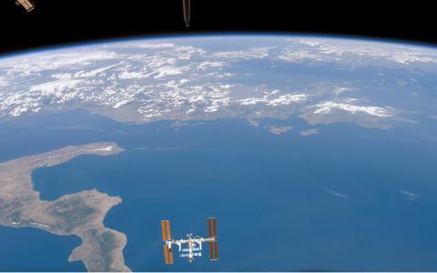 地球从空间