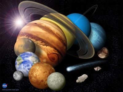 太阳系的行星