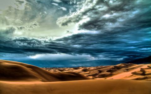 沙漠的沙子
