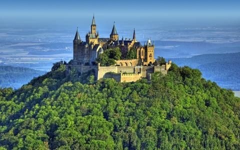 古代堡垒在德国