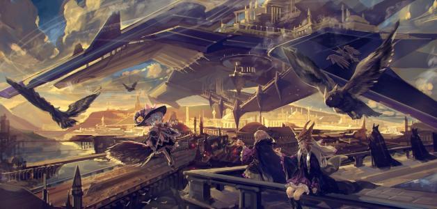 未来的世界,动漫Pixiv幻想曲