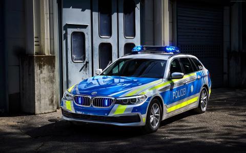 警车宝马530d xDrive,2017年