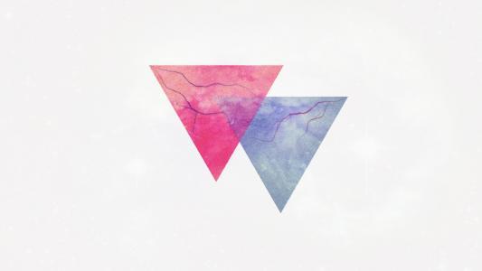 两个三角形