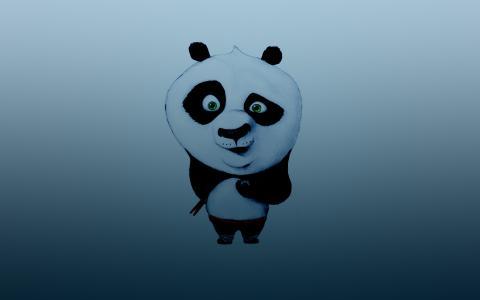 与筷子的功夫熊猫