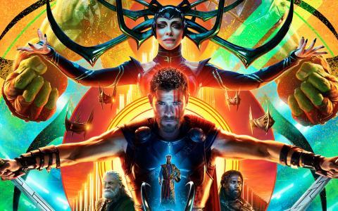 新电影托尔的海报3. Ragnarok,2017年