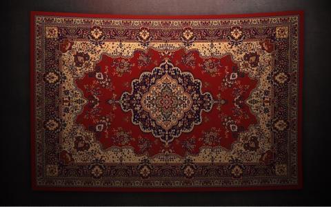 来自伊朗的波斯地毯