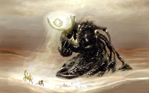恶魔在沙漠中