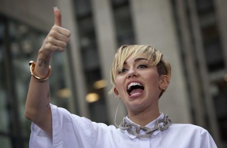 Miley Cyrus 2013的新形象