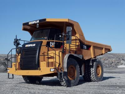 卡特彼勒770卡车