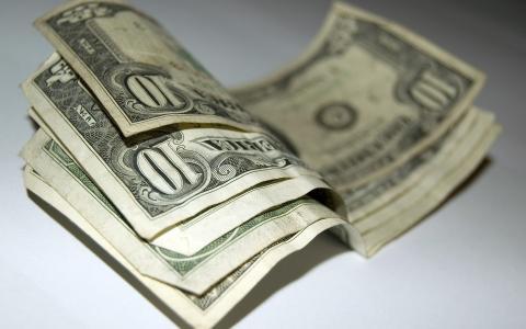 几十美元的钞票