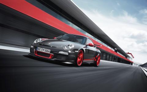 赛车保时捷911 GT3 RS