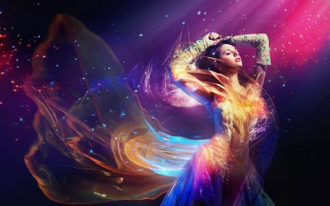 火焰能量舞蹈