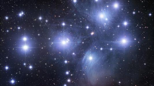 闪亮的明星
