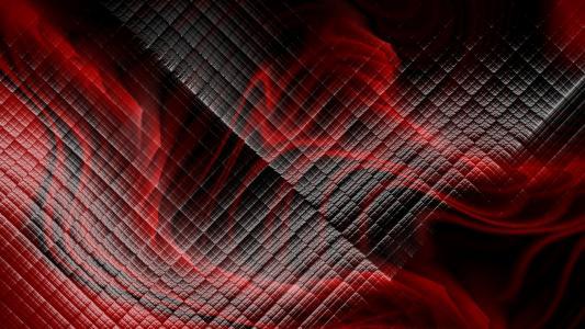 红色的黑色纹理
