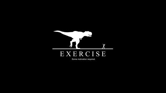 黑色背景,锻炼